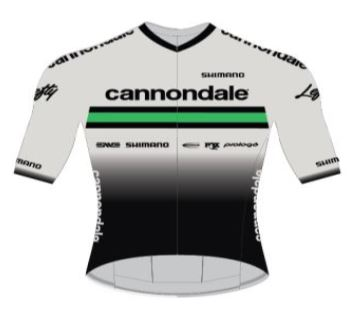 Cannondale Shirt Korte Mouw CFR Team Replica Wit